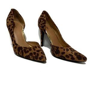 Mossimo Leopard Animal Print Heels Sz 9